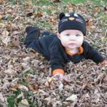 I heard playing in these leaves can be fun - October 31