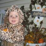Our favorite leopard gets ready to prowl for candy