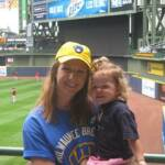 Getting ready to cheer on the Brewers - July 28th