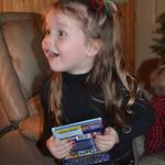 The pure joy of opening presents - December 22nd